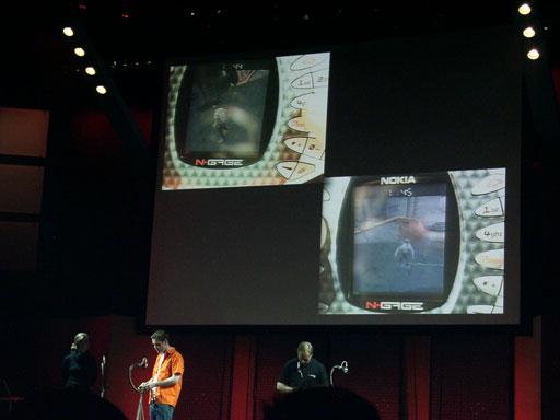 N-gage-apresentacao-EA-2003 A História do N-Gage, o celular videogame da Nokia