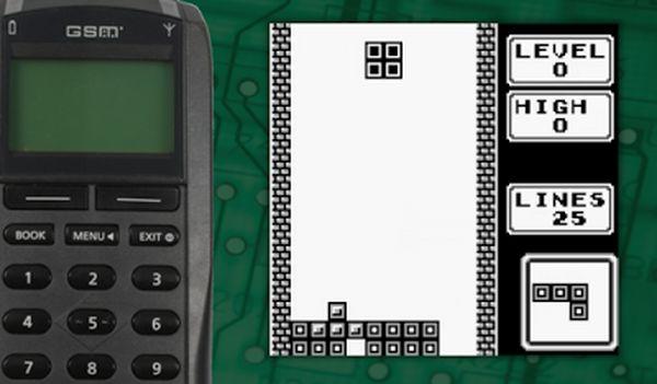 Hagenuk-Tetris História dos Jogos para Celular - 1ª Parte