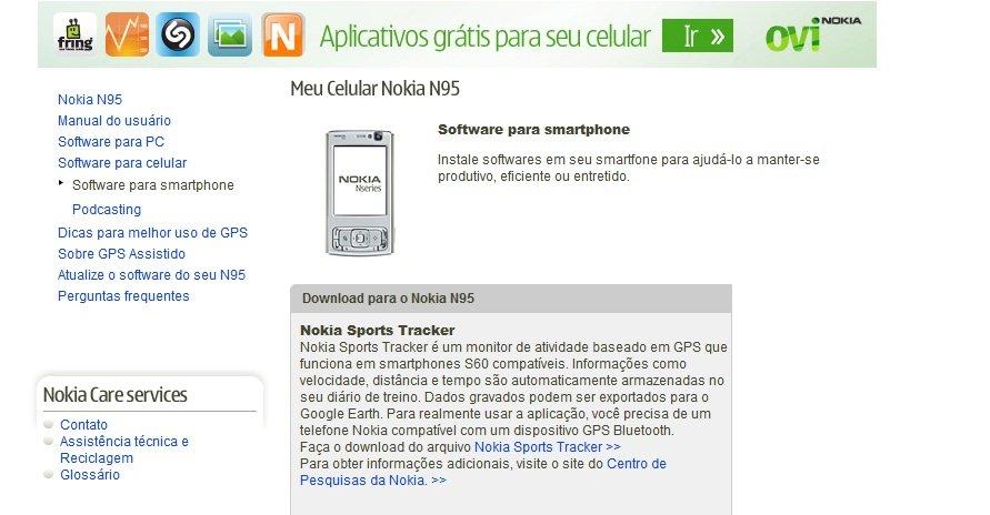 paginasmartphonen95 [Aviso de amigo] Nokia C3 não é Smartphone!