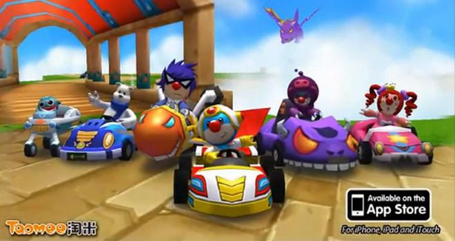 Mole-Kart Jogo para iPhone/Android grátis: Mole Kart (Mario kart clone)