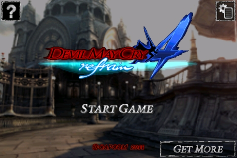 dmc4refrain-007 [Análise] Devil May Cry 4 Refrain (iPhone)