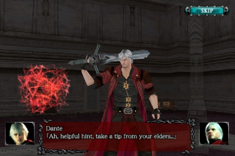 dmc4refrain-008 [Análise] Devil May Cry 4 Refrain (iPhone)