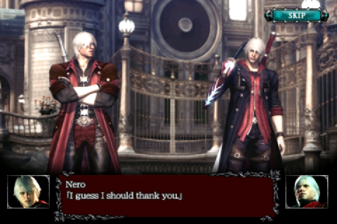 dmc4refrain-012 [Análise] Devil May Cry 4 Refrain (iPhone)