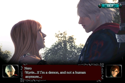 dmc4refrain-014 [Análise] Devil May Cry 4 Refrain (iPhone)