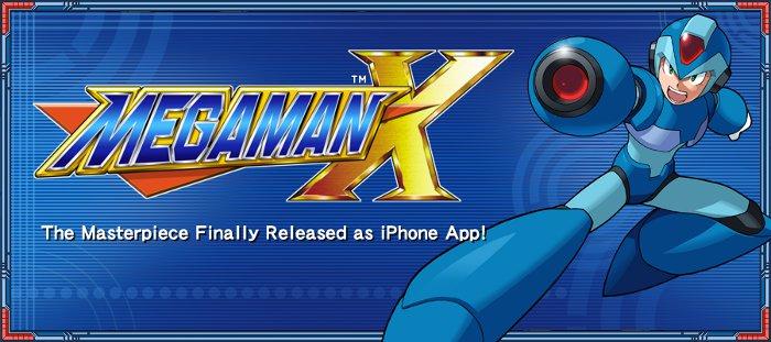 mega-man-x-to-ios CAPCOM vai investir novamente em jogos para celular