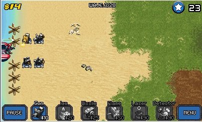 3WAVEMATANÇA Análise - Mega  Tower Assault ( JAVA- Landscape)