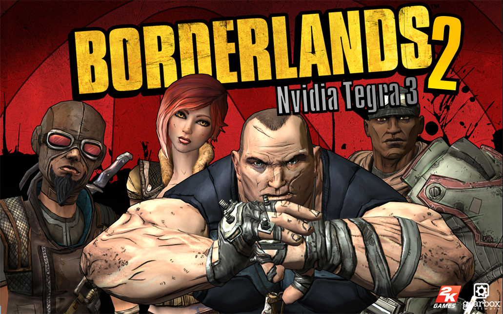 "Borderlands-2-NVidia-Tegra-3-Poster Gearbox anuncia ""Borderlands 2"" para dispositivos com NVidia Tegra 3"