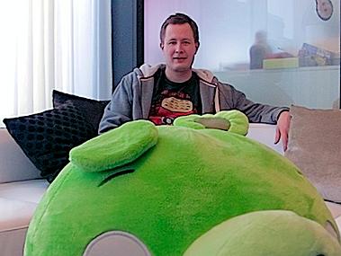 Mikael-Hed Rovio está trabalhando em novo jogo, e NÃO é um Angry Birds