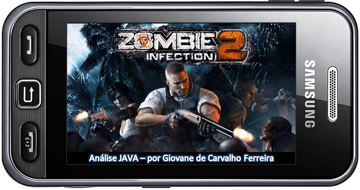 Zombie-Infection-2-Poster-para-SLIDESHOW-e-Análise Análise- Zombie Infection 2 (JAVA Touchscreen)