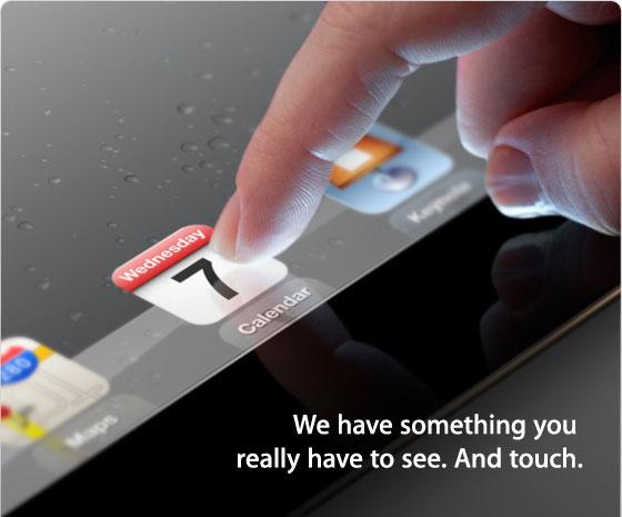 iPad-3-convite Apple confirma: iPad 3 será apresentado no dia 7 de Março