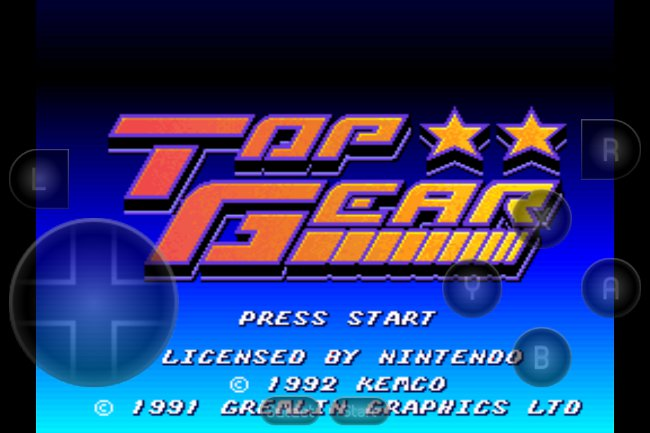 top-gear-emulador-snes9x Emulador de Super Nintendo para iPhone e iPad (Grátis)