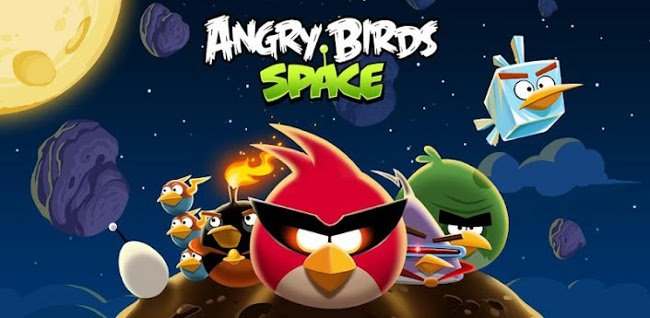 Angry-Birds-Space É hoje: Angry Birds estão no espaço!