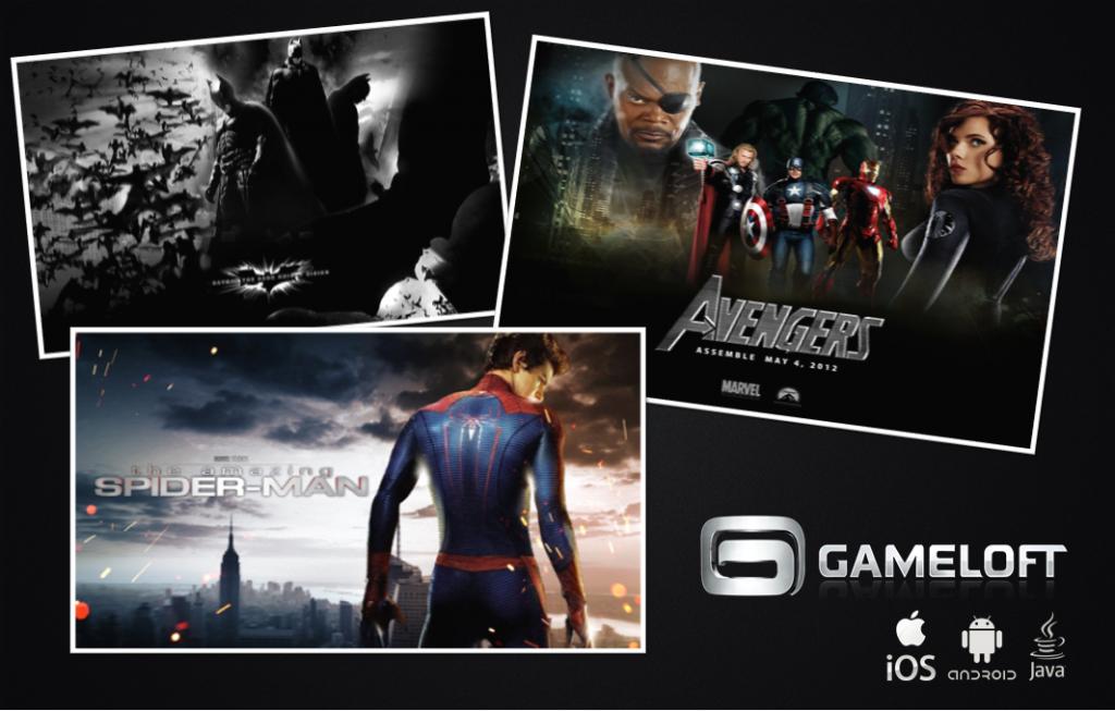 Batman-Avengers-e-Spider-Man-POSTER-1024x653 Grandes lançamentos da GAMELOFT para 2012