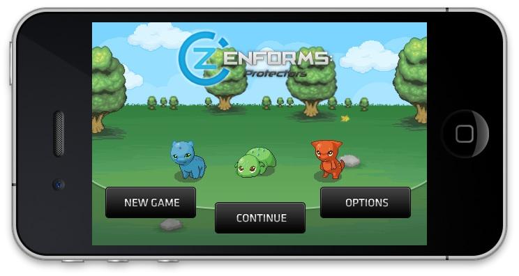 "Zenforms-Destaque Zenform - Um ""Pokémon"" para iOS"