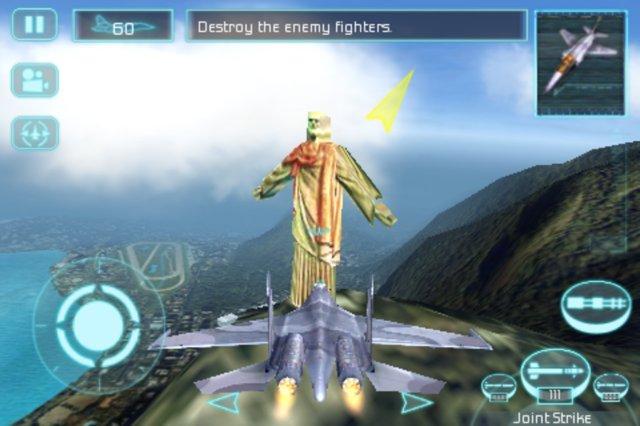 """cristo-redentor [Review] H.A.W.X é uma experiência de voo """"meio-boca"""" para iPhone e Android"""