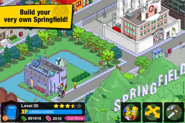 simpsons-iphone Jogo dos Simpsons grátis para iPad e iPhone