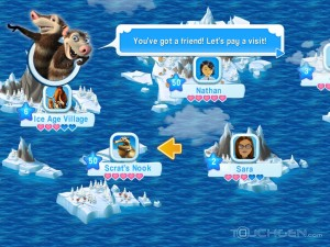 "Ice-Age-Village-1-300x225 Ice Age Village - Jogo produzido pela Gameloft para promover o filme ""A Era do Gelo 4"""