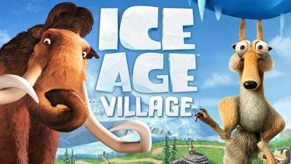 "Ice-Age-Village-Poster Ice Age Village - Jogo produzido pela Gameloft para promover o filme ""A Era do Gelo 4"""