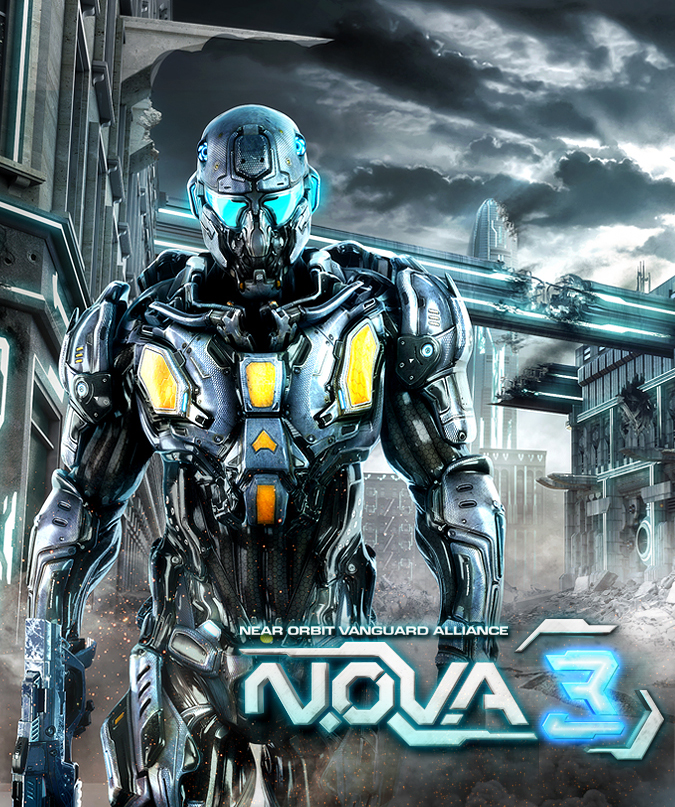 N.O.V.A.-3-Artwork N.O.V.A. 3 - Trailer oficial acaba de ser divulgado