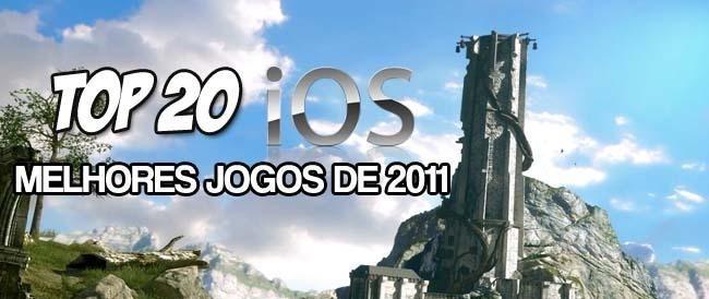 TOP-20-ios.games_ Top 20 - Melhores jogos para iPhone e iPad em 2011