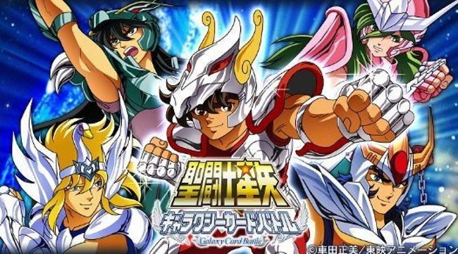 saint_seiya_galaxy_card_battle Novo jogo dos Cavaleiros do Zodíaco para Android e iPhone (mas só no Japão)