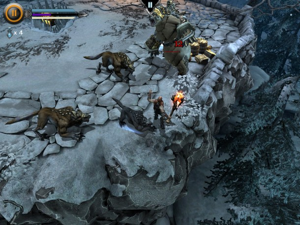 Infinity-Blade-Dungeons-InGame-1 Infinity Blade: Dungeons - Vídeo gameplay e imagens (iOS)
