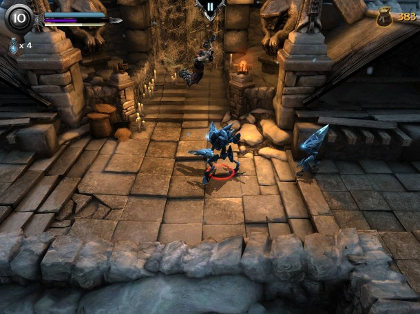 Infinity-Blade-Dungeons-InGame-2 Infinity Blade: Dungeons - Vídeo gameplay e imagens (iOS)