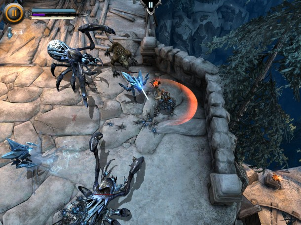 Infinity-Blade-Dungeons-InGame-3 Infinity Blade: Dungeons - Vídeo gameplay e imagens (iOS)