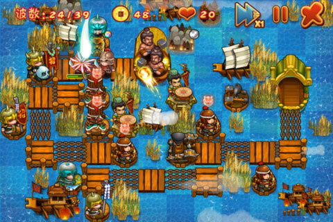 JogoGrátis Jogos MiniFlyer e Funny Sango TD estão disponíveis de graça para iPhone e iPad