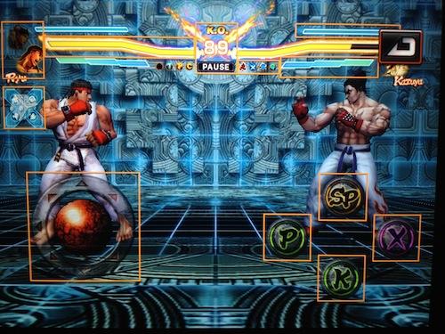 Street-Fighter-X-Tekken-inGame-1 E3 2012: Street Fighter X Tekken receberá versão para iOS