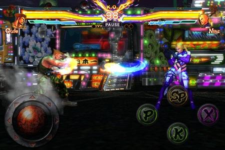 "Street-Fighter-X-Tekken-inGame-5 Novos detalhes de ""Street Fighter X Tekken"" (iOS)"