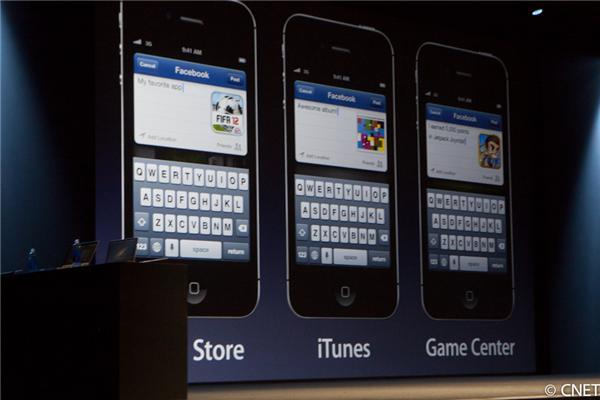 "integracao-facebook-ios Apple Keynote Junho de 2012: Nem iPhone 5, nem iPod Touch de 4"", mas iOS 6!"