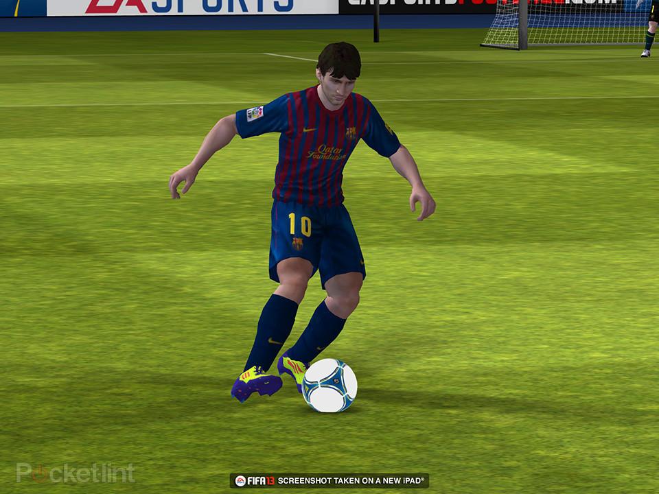 FIFA-13-iOS-inGame-1 Novas imagens de FIFA 13 para iPhone e iPad!