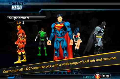 Justice-League-Earths-Final-Defense-inGame-1 'Justice League: Earth's Final Defense' anunciado para iOS