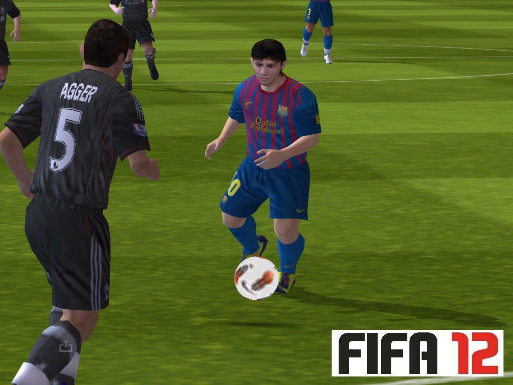 Lionel-Messi-em-FIFA-12-para-iOS Top 10 Melhores jogos para iPhone e iPad: Setembro de 2012