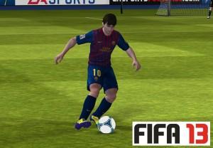 Lionel-Messi-em-FIFA-13-para-iOS-300x208 Novas imagens de FIFA 13 para iPhone e iPad!