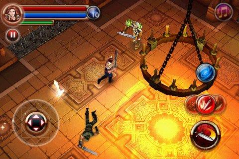 dungeon-hunter-2 Muitos jogos para iPhone e iPad em promoção (US$ 0,99) somente hoje! Baixe já!