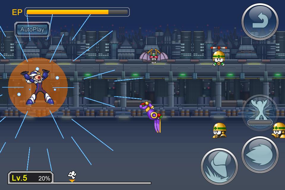 Megaman-Cross-Over-inGame-1 Megaman X Over anunciado no oriente para iOS