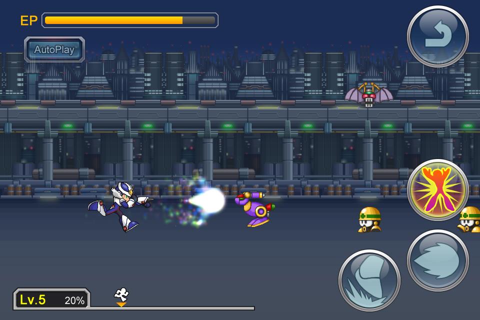 Megaman-Cross-Over-inGame-2 Megaman X Over anunciado no oriente para iOS