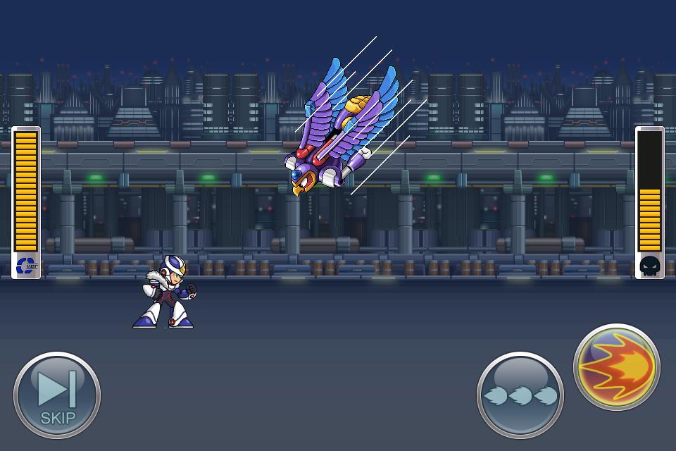 Megaman-Cross-Over-inGame-3 Megaman X Over anunciado no oriente para iOS