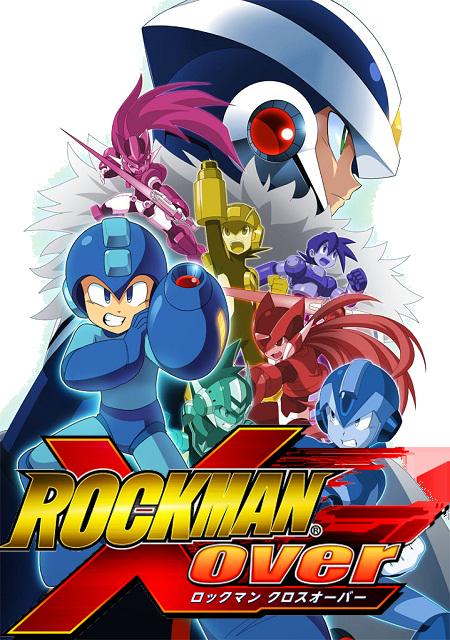 Megaman-Cross-Over Megaman X Over anunciado no oriente para iOS
