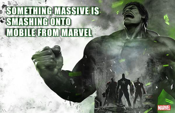 """""""Algo massivo e esmagador para celulares vindo da Marvel"""""""