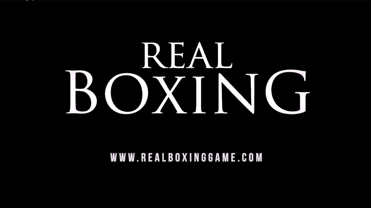 Real-Boxing 'Real Boxing' - Jogo de Boxe com Unreal Engine para iOS