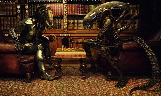 Novo jogo de Alien vs predador para iOS ... e não será xadrez!