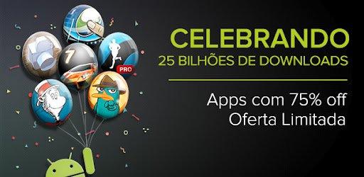 25bilhoesdownloads-android Google Play comemora 25 bilhões de downloads com promoção