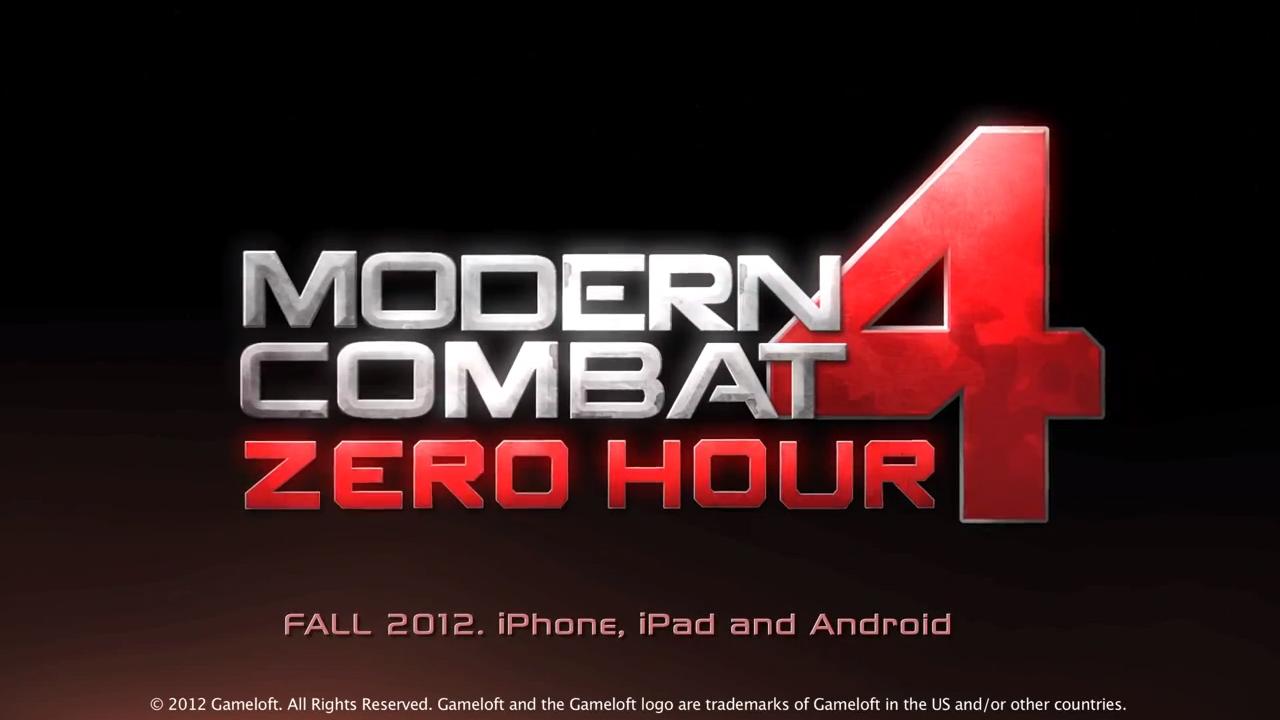 Modern-Combat-4-Zero-Hour TRAILER: Modern Combat 4 - Zero Hour (iOS e Android)