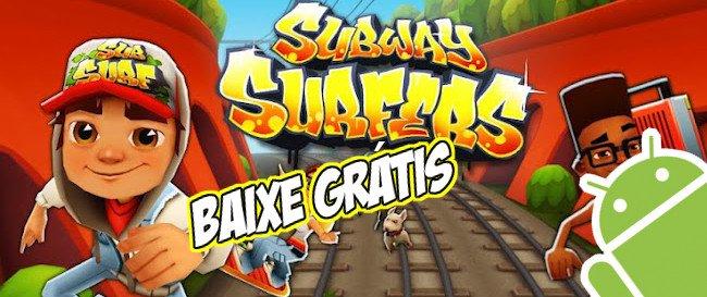 subway-surfers-jogo-gratis Jogo para Android Grátis - Subway Surfers