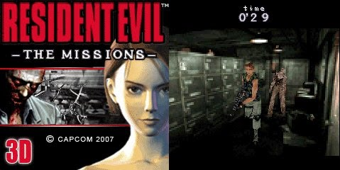 Resident_Evil-The_Missions_3D Conheça os Resident Evil's para celulares e smartphones