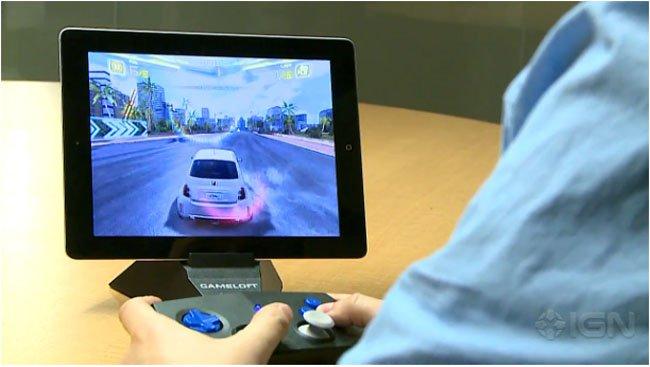 duo-gamer Gameloft irá vender seu próprio controle para iPhone e iPad