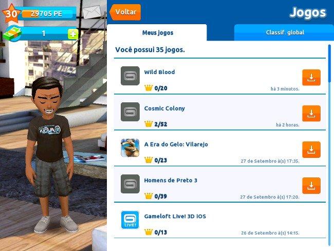 gameloftlivefail Gameloft live 3D para iOS anda tão bugada quanto os mapas do iOS 6